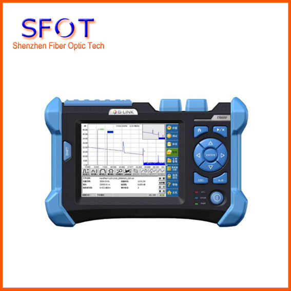 OTDR TR600 with 1310/1550nm 32/30dB Visual Fault Location Function Optical Fiber OTDR communication Fiber Testing equipment