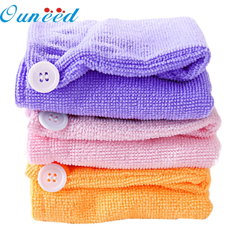 2017 hot sale soft comforta Ale towel Super Fast a Asor Aing water Ary hair Ponytail Hol Aer Cap towel A