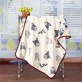 2016 Direct Selling Venda Cobertor Do Bebê Swaddle Primavera Coral Fleece Ar Condicionado Flanela Folha de Cama Recém-nascidos Macio 100*75 cm