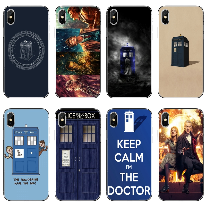 Half-wrapped Case Doctor Who Tardis Artwork Blue For Samsung Galaxy J4 J5 J6 J7 A5 A7 A8 A9s Plus Prime Star 2016 2017 2018 Soft Mobile Phone Case Supplement The Vital Energy And Nourish Yin Cellphones & Telecommunications