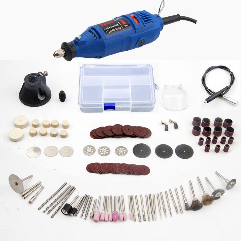 220 v Power Tools Elektrische Mini Bohrer mit 0,3-3,2mm Univrersal Chuck & Shiled Dreh Werkzeuge Für Dremel bohrer