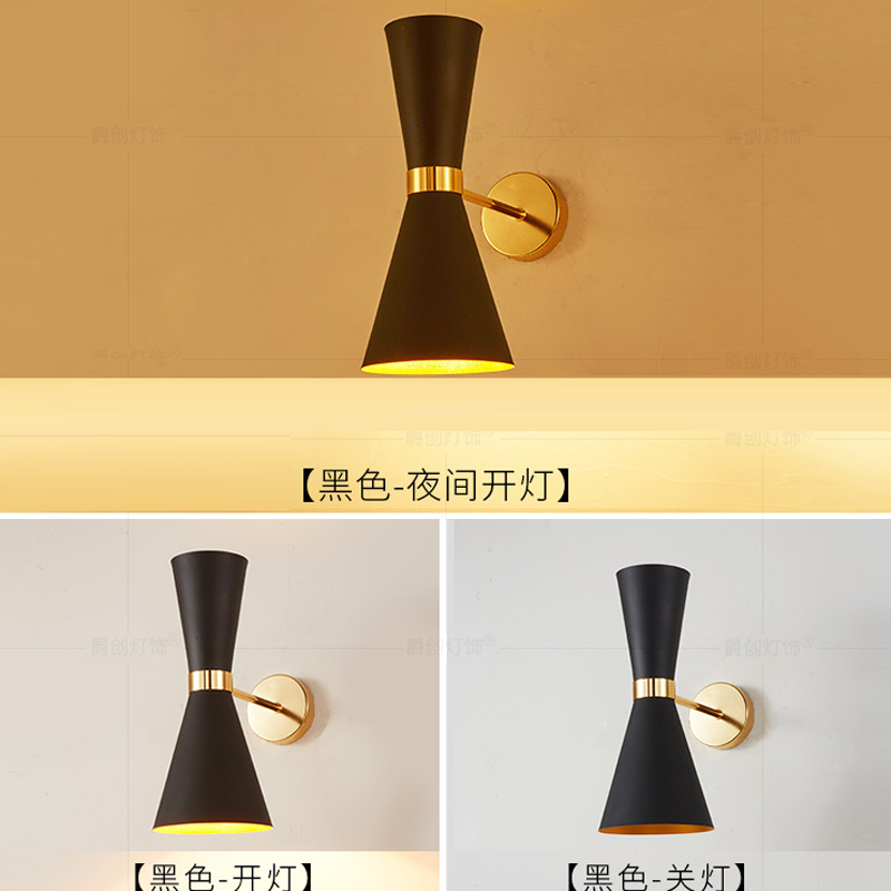 Post-modern aluminum wall lamp bedroom bedside LED outdoor lighting  wall lamps for living room E14 creative led wall lighting modern reading bedside lamp telescopic wall lamp robotic arm e14 incandescent wall lamp