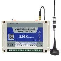 GSM GPRS Температура регистратор данных Встроенный промышленный квад gprs двигателя и gps модуль дополнительно Король Голубь S260