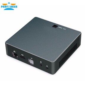Image 4 - Partaker Nuc Mini PC i7 8550U Dört Çekirdekli Windows 10 Pro DDR4 Max 16 GB AC Wifi Mini Bilgisayar HD typc c