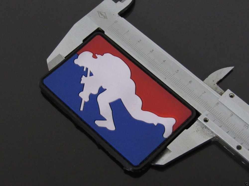MLD TACTISCHE MAJOR LEAGUE DEUR KICKER 3D PVC RUBBER EMBLEEM PATCH MORAAL US ARMY AIRSOFT PATCH BADGE