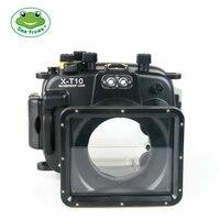 Seafrogs Камера сумка для Fujifilm T20 40 м Корпус подводный чехол стабилизатор для Fujifilm T10 Водонепроницаемый случае Камера аксессуар
