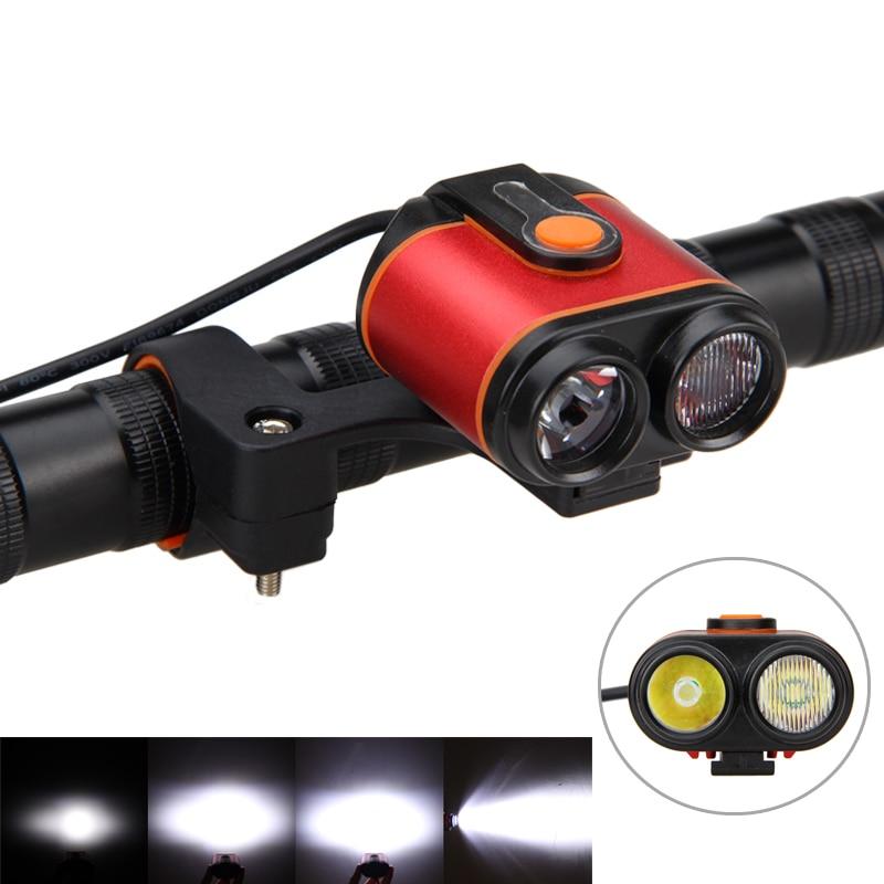 Ūdensizturīgs lukturis 10000LM 2 * XM-L2 LED velosipēda lukturis - Riteņbraukšana