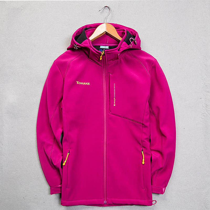 SCRIOSADH Women Outdoor Soft shell Waterproof Windproof Brand Sports Jacket Fleece Warm Women Coat Skateboarding Hiking Jacket
