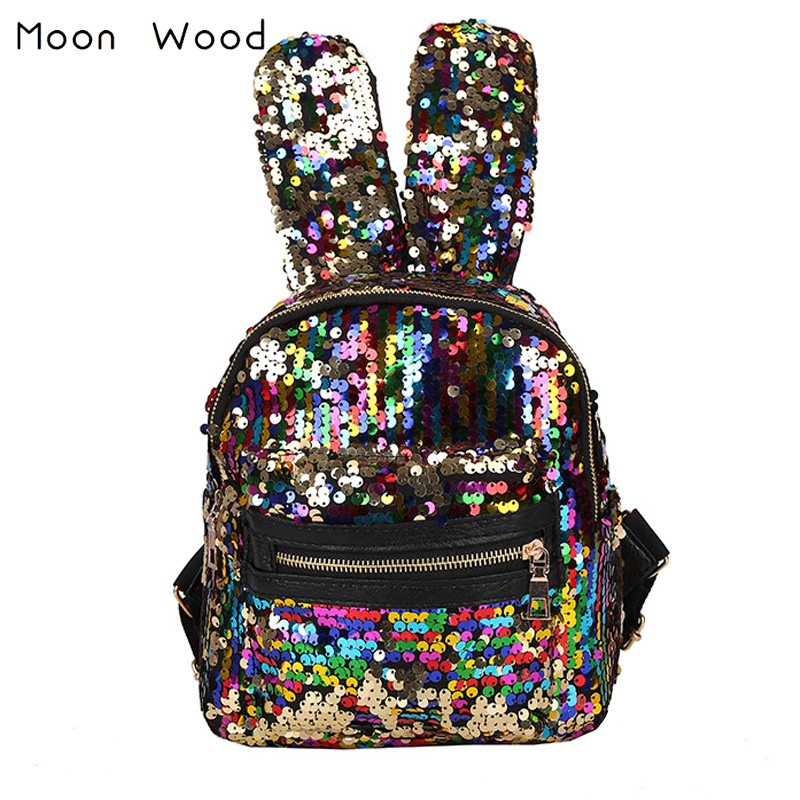 Backpacks & Carriers Popular Brand New Baby Girl Backpack Childrens Bag Fashion Cute Rabbit Ears Double Shoulders Backpack Baby Backpack Accessories Activity & Gear