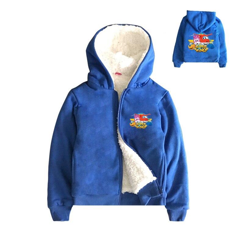 YLS 2-8Years Super Ailes Vêtements Garçon Veste Enfants Manteau De Fourrure D'hiver Habineige Puddle Jumper Manteau Novatx Enfant Veste Ziper