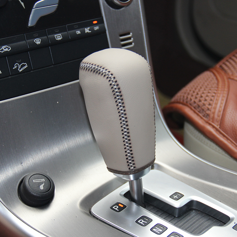 Top gear stick shift knob cover For Volvo XC60 AT Case ppc cpr pen case on the shift lever pen cpt  case on ppc handle cpr gear shift