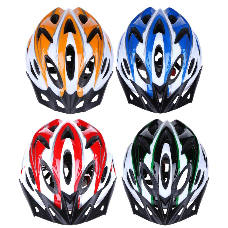Ultra-light Safety Sports Bike Helmet Road Bicycle Helmet Mountain Bike MTB Racing Cycling 18 Hole Helmet 57-62cm