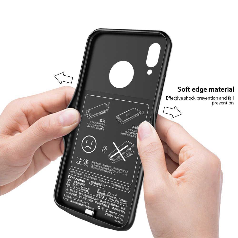 Противоударный чехол для зарядного устройства для Xiaomi mi 8 SE A2 mi 6 mi x 2 2s Внешний чехол для зарядного устройства запасной внешний аккумулятор чехол для зарядки Capa