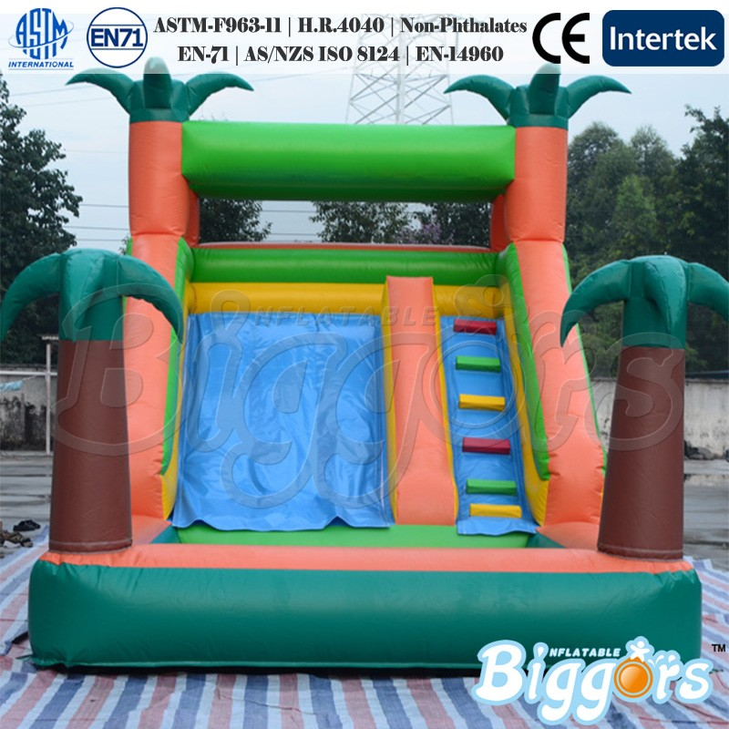 Inflatable Rainforest Water Slide With Pool Inflatable Water Pool Slide inflatable pool slide funny water slide combo dual slides
