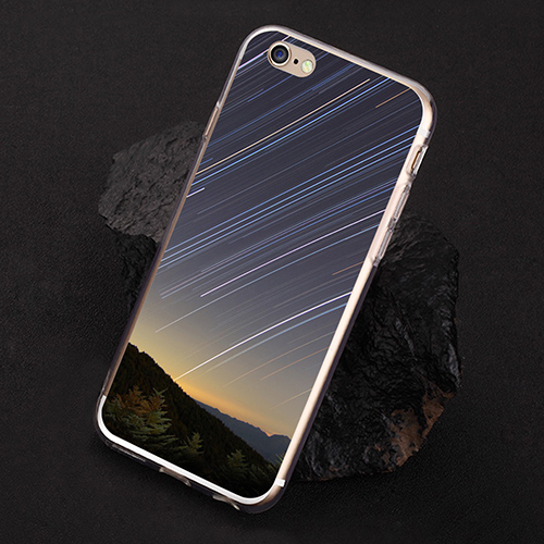 Meteor Shower Print Case Cover for iPhone 7 6S Plus