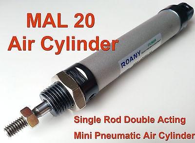 NEW MAL 20mm x 150mm Single Rod Double Acting Mini Pneumatic Air Cylinder 20x150 cdj2b16 x 50 150 200mm single rod double acting mini pneumatic air cylinder