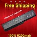 100% 5200 mah nova bateria de substituição do portátil para toshiba satellite l645 l655 l700 l730 l735 l740 l745 l755 l750 pa3817u pa3817