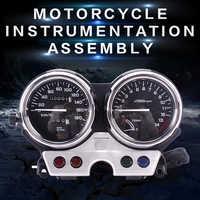 ใหม่เครื่องมือชุดเครื่องวัดเมตร cluster speedometer มาตรวัดระยะทางเครื่องวัดวามเร็วสำหรับ Honda CB400 1992 1993 1994 92 93 94 CB 400