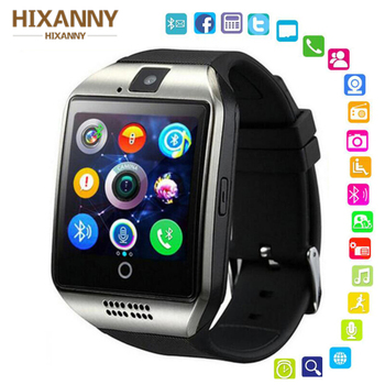 Bluetooth Smart Watch Q18 Men Sport Wristwatch Support 2G SIM TF Card Camera Smartwatch For Android Phone PK GT08 DZ09 A1 Y1 V8 цена 2017