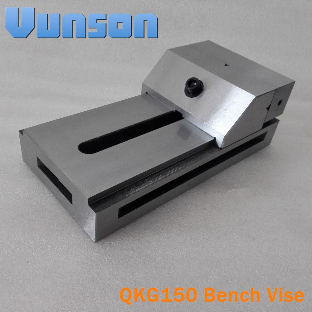 QKG150 flat nose Precision Bench Vise for Surface grinding machine milling machine edm machine High Precision