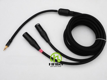 XLR cable hifi cable 3pin XLR XLR to 3.5 JACK aux to XLR cable audio extension cable cord Free shipping