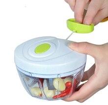 Ätherisches Küche Werkzeuge Zwiebelgemüseschneider Multifunktionale Hand Schnelle Chopper Gemüse Obst Gehackt Shredder & Aufschnittmaschinen