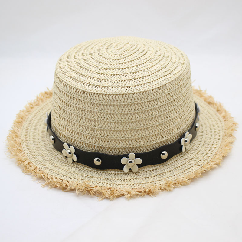 SUOGRY New Women Hats Panama Summer for Ladies Beach Sun Visor Straw Hat