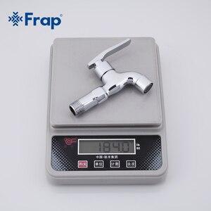 Image 5 - FRAP באיכות גבוהה פליז נחושת מטבח ברז מהיר פתיחה ברז קר אחת מכונת כביסה מנוף F521 F522
