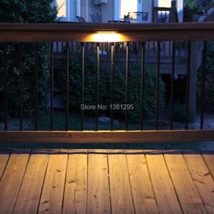 Image 2 - 12 stks 12 v IP65 laagspanning Outdoor Waterdichte LED Deck Stap Trappen licht Exterieur Vloer terras verlichting keermuur lamp