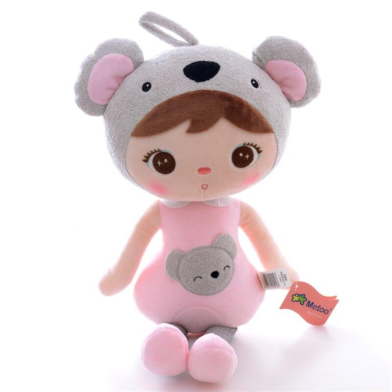 Ny Ankomst Original Metoo Lucky Dolls Rosa Koala Plysj Barn Baby - Dukker og tilbehør - Bilde 1