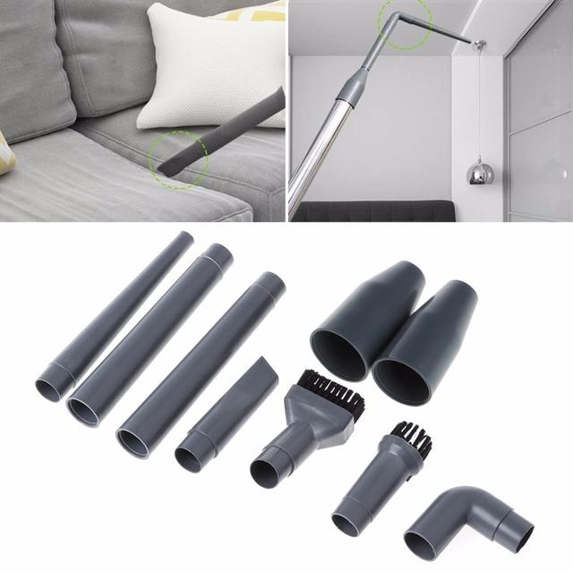 SKYMEN 9Pcs/Set Universal Vacuum Cleaner Accessories Multifunctional Corner Brush Set Plastic Nozzle
