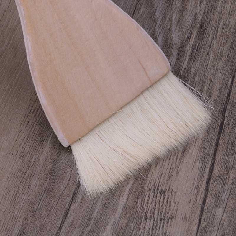 אמן מברשות עיזים שיער ידית אספקת אמנות צבעי מים אקריליק עץ שמן מברשת צבע שישה גדלים עבור אמן, סטודנטים, מאהב של אמנות