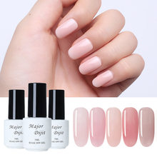 Gel Cat Kuku Uv 5 Ml Nude Pink Rendam Off Gel Memoles Gel Lacquer Nail Art Vernis Semi Permanen UV(China)