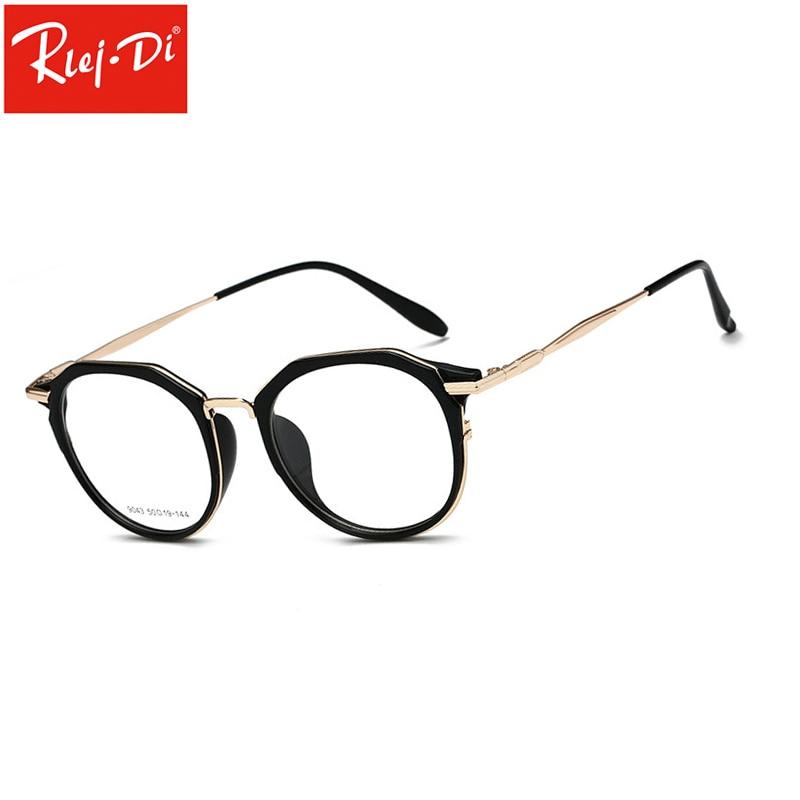 d6513fd7345f83 Beste Kopen TT373 Vrouwen Mannen Vintage Ronde Brillen Frames Retro Optische  Glazen Frame Brillen Oculos Goedkoop