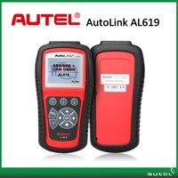 100% escáner original de autel autoenlazar al619 obdii can abs srs dtc restablecer airbag scan herramienta de actualización en línea
