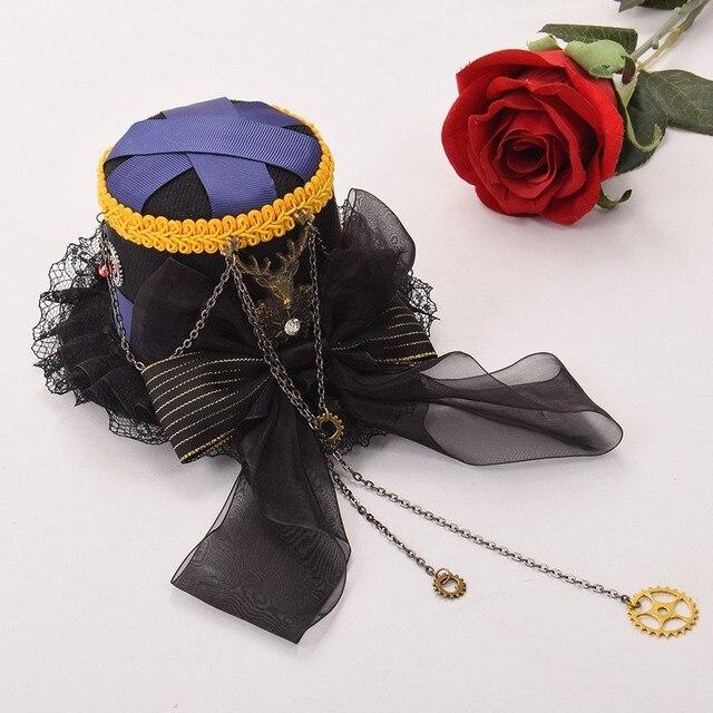 Шляпа готическая в стиле стимпанк в ассортименте 4