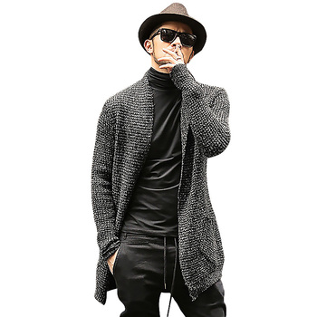 Long Sleeve Cardigan Males Pull style
