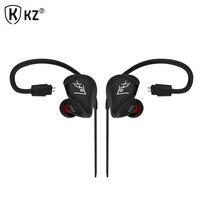 Original KZ ZS3 Hifi Earphone With Without Microphone Metal Heavy Bass Sound Music Earphone Phone Calls