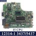 KEFU 12314-1 motherboard for Dell 3437 5437 Test original mainboard I5 CPU