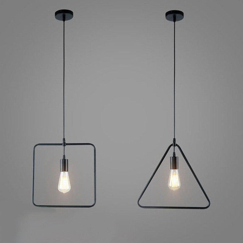 Ungewöhnlich Geometrische Draht Beleuchtung Anhänger Zeitgenössisch ...