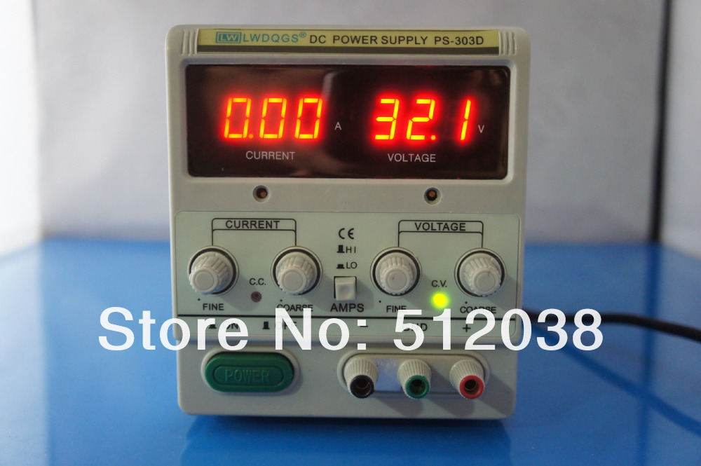 LW  PS-303D 0-30V/3A High quality DC power supply, lab power