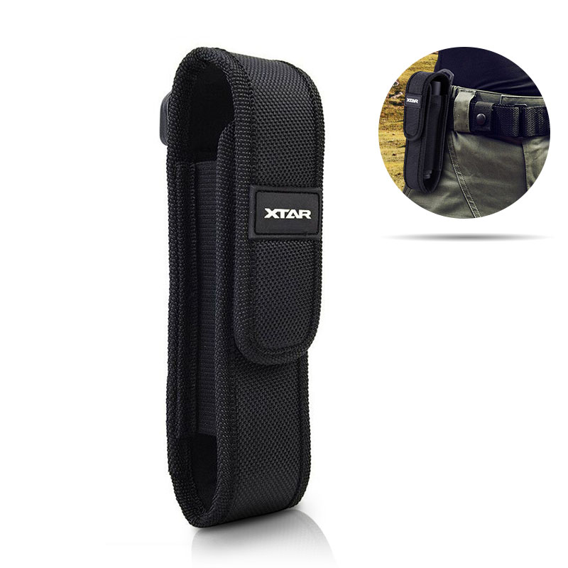 XTAR T220 Fenix Flashlight Pouch Molle LED Torch Holster Outdoor Work Hunting Camping Hiking Multitool Flashlight Pouch Nylon