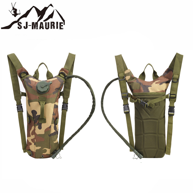Water Bags Faithful 3l Tactical Hydration Backpack Outdoor Water Bag Molle Military Camping Camelback Nylon Camel Water Bag For Cycling Hunting Rich In Poetic And Pictorial Splendor Sports & Entertainment