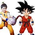 Japão Anime Crianças De Dragon Ball Z Cosplay Goku Macaco Rei Cosplay Roupas Halloween Party Wear