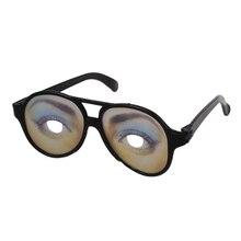 ABWE 1 пара черный забавный поддельные очки женские модели