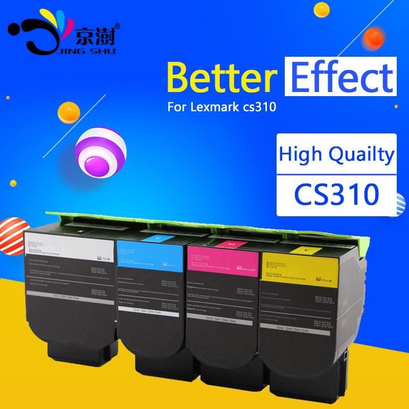 1pcs Toner Cartridge Compatible for Lexmark cs310 printer