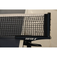 Professional Table Tennis Net Clip Grip Mesh tennis table bat Net Training Portable 1pcs Ping Pong Net+2pcs Clip Holder
