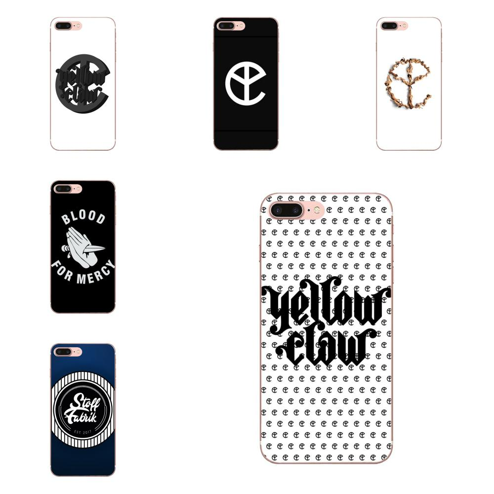 For Apple iPhone 4 4S 5 5C 5S SE 6 6S 7 8 Plus X XS Max XR Soft TPU Stylish Case Yellow Claw