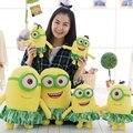 Горячие продажи 1 шт. новые 3D Глаза Гадкий я миньон плюшевые девушка игрушки куклы аниме плюшевые игрушки для детей куклы для девочек подарок на день рождения