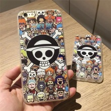 One Piece Japan cartoon Phone Case Coque For Apple Iphone 6s 6 Plus 6s plus 5.5 inch 5 5s phone case Cover hard pc Cover